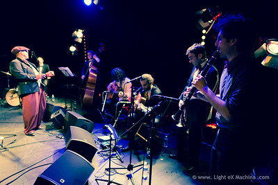 Paris Lindy EXchange - saturday party - Steven Mitchell & Hot Swing Quintet