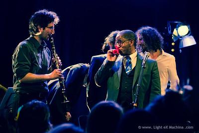 Paris Lindy EXchange - saturday party  Steven Mitchell & Hot Swing Quintet