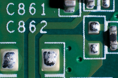 This is the area outlined by the red box on the right side of the circuit board