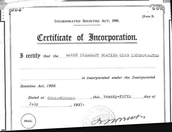 Original Certificate of Incorporation