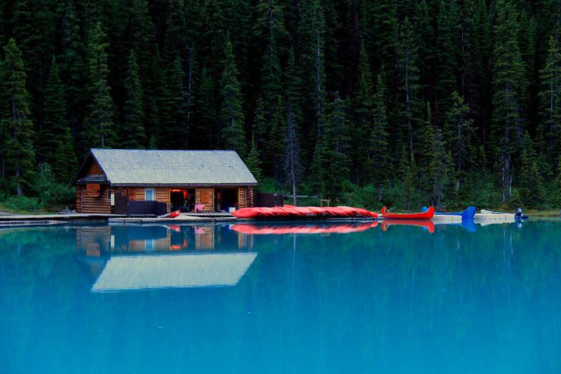 kathy zelm boathouse -lake louise