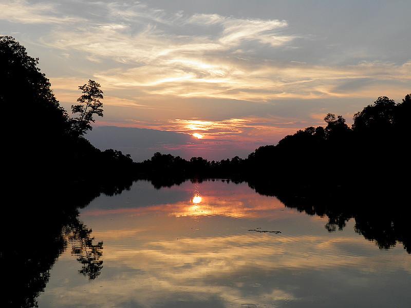 Ken Kendzy - Sunset Over Lake Horton
