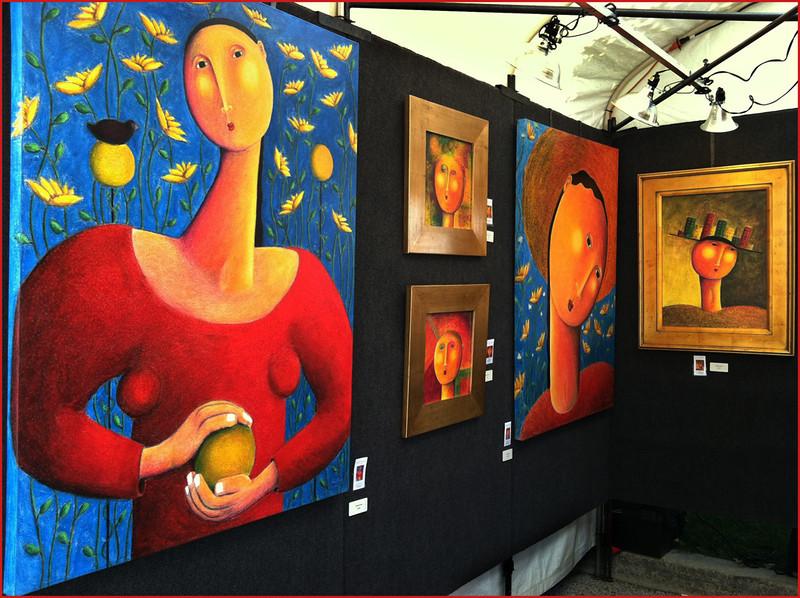 Sharon Peterson - The Art Fair