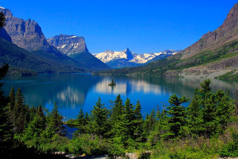 kathy zelm st  mary lake-glacier
