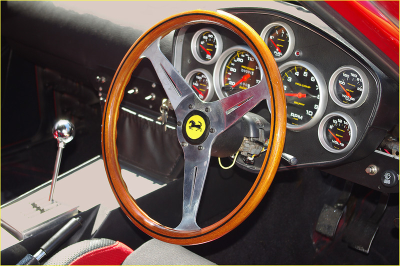 John Peterson-Ferrari Instrument Panel