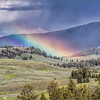 Rainbow Over Yellowstone<br /> Jane Ballengee