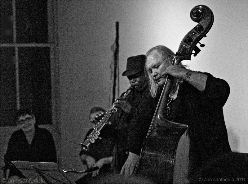Joe McPhee on Sax, Dominic Duval on Bass - March 20th, 2011  - RIP Dom, JUly 2016