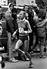 Grete Waitz - running in the 1980 New York City marathon - this was her third win of nine.
