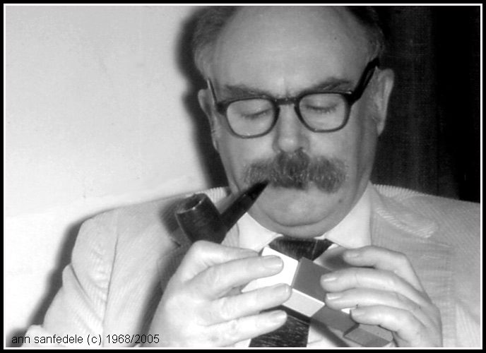 Maine poet Herb Warren in 1968.