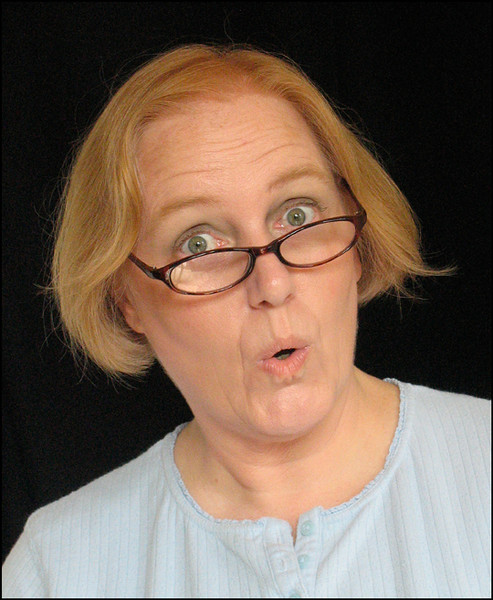 This is Kaye - she is a character actress with a great sense of humor