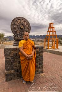 The Abbott Luang Por, founder of the monastery