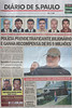 A Sao Paulo newspaper shows many of the appearances of Colombian drug lord Juan Carlos Ramirez Abadia in Aldeia da Serra,near Sao Paulo, Brazil. Abadia, known as Chupeta or Lollypop, suspected of ordering hundreds of murders in Colombia and the US, was detained by the Brazilian Federal Police as part of a major drugs investigation. The US state department describes him as one of the most powerful and elusive Colombian drug traffickers.(Australfoto/Douglas Engle)