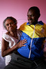 Runner Ronaldo da Costa with his mother Efigenia Custodia in his home in Sao Joao Nepomucemo in Brazil's southeastern state of Minas Gerais. The youngest of 11 children, and from a simple country home,  Da Costa came from nowhere to break the 10 year old marathon world record in Berlin in 1998 with a time of 2:06:05., and has since returned to relative obscurity. Da Costa cherishes his moment of glory but does not dwell on his lackluster performances since 1998. He has invested in real estate in his town and is busy starting an athletic association for young people. (Australfoto/Douglas Engle)