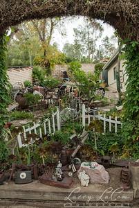 Front yard of John and Kathy Wales' house