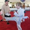 A young Kick-a-Thon participant