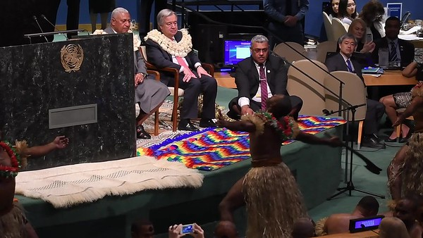 "UN Ocean Conference starts with Fiji's traditional Welcome Kava Ceremony - 41"" VIDEO"