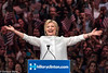 Hillary Clinton claims Democratic presidential nomination