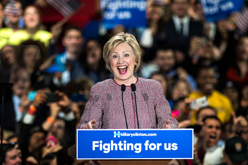 Hillary Clinton wins New York Primary