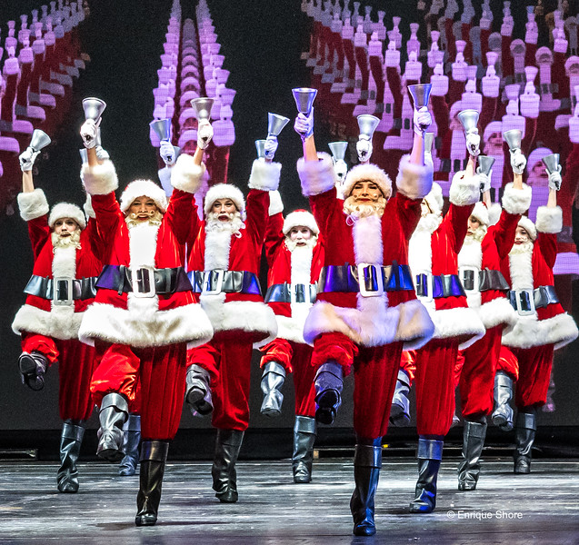 The 2017 Christmas Spectacular show at New York's Radio City Music Hall