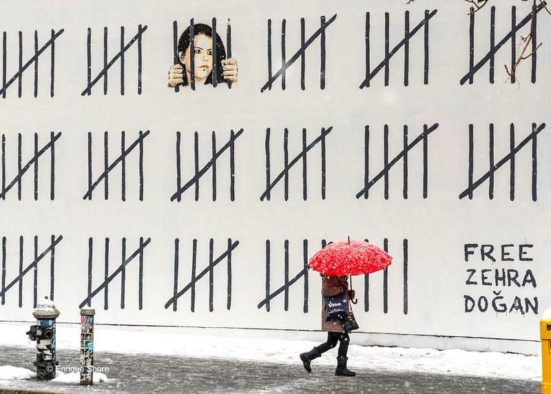 Banksy mural in New York City