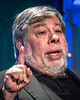 Wozniak speaks at a technology conference in New York