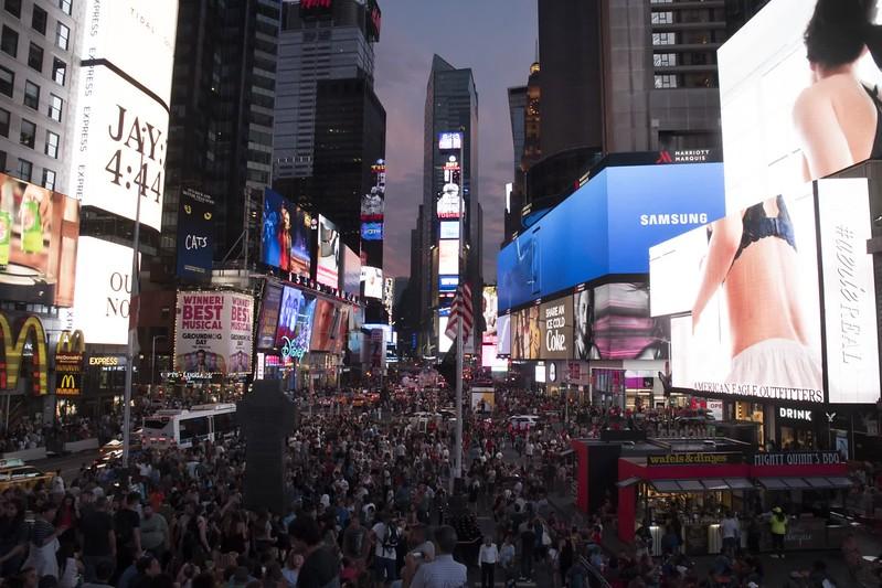 Times Square - Time Lapse sample