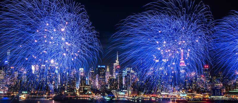 NYC - Chinese New Year 2016 - fireworks