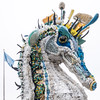 Sculpture at UN Ocean Conference is made of marine debris