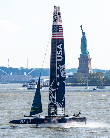 Sail GP event, New York, USA