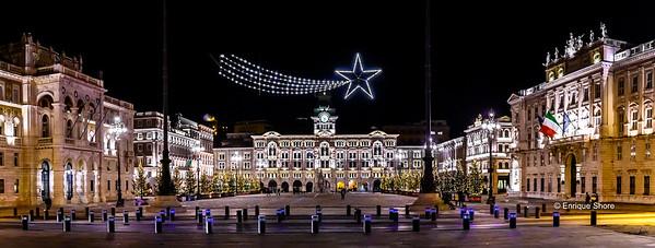 Piazza Unità d' Italia, Trieste, Italy