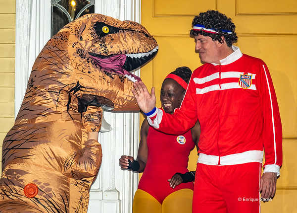 New York City Mayor de Blasio hosts Halloween party for kids