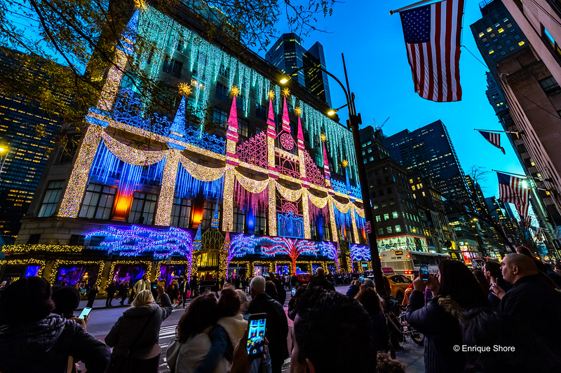 Christmas Season, New York, USA