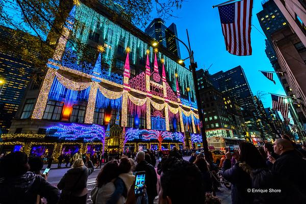 Christmas Season, New York, USA