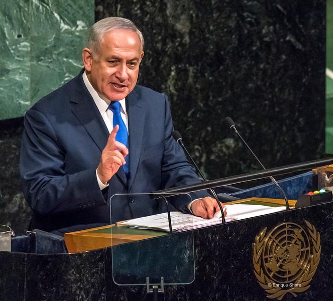Netanhayu addresses United Nations General Assembly