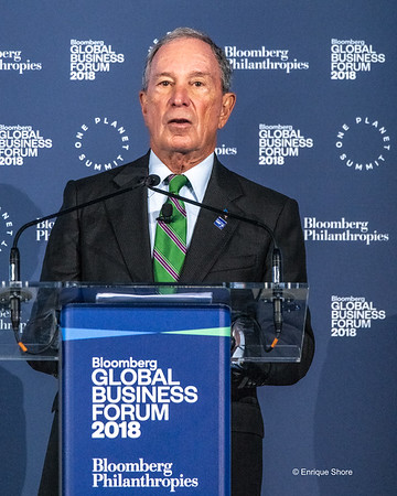 Michael Bloomberg inaugurates the Global Business Forum 2018