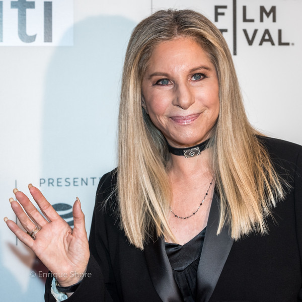 Barbra Streisand arrives at the 2017 Tribeca Film Festival