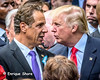 Trump and Cuomo at 15th anniversary of 9/11 in New York