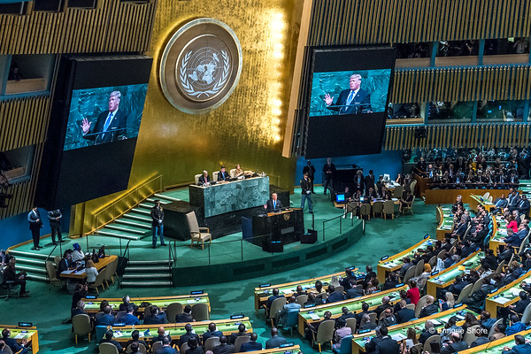US President Trump addresses United Nations 72nd General Assembly
