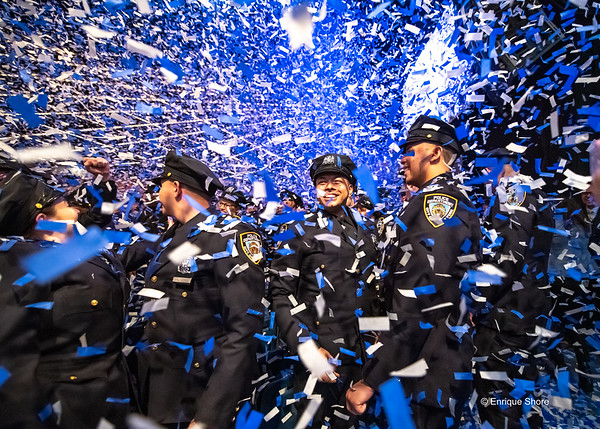New York Police Academy graduation