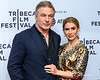 Alec Baldwin and wife Hilaria at the 2019 Tribeca Film Festival