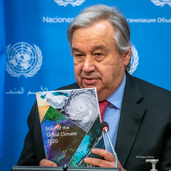 UN Sec-Gen Guterres presents State of the Global Climate report, New York, USA