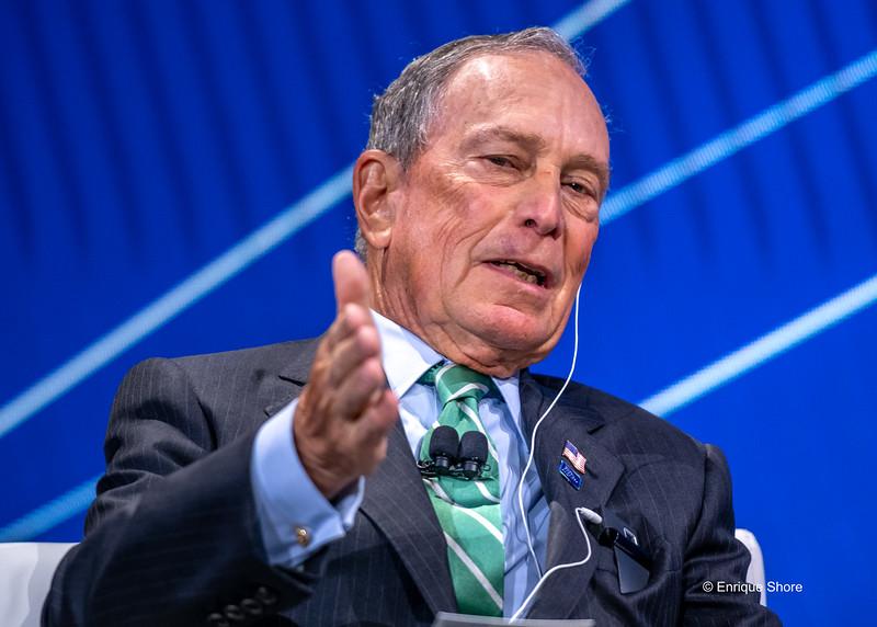 Michael Bloomberg enters US presidential race