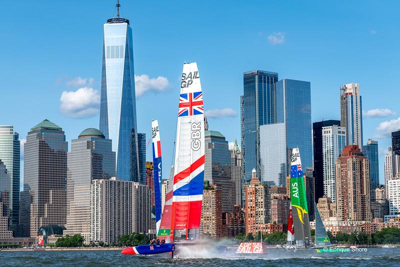 Sail GP event, New York, USA