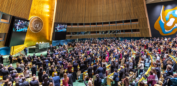 UN International Day of Commemoration in Memory of Victims of the Holocaust, New York, USA