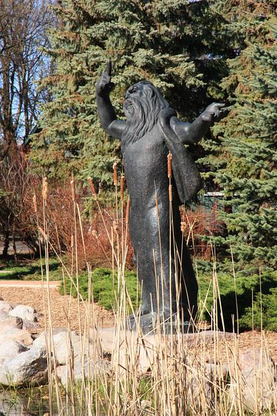 Moses, Leo Mol Sculpture Garden