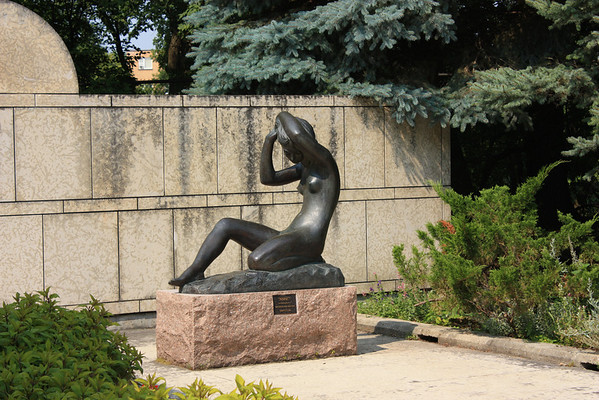 Girl With Raised Arms, Leo Mol Sculpture Garden