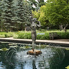 Bathing Girl in Pond, Leo Mol Sculpture Garden