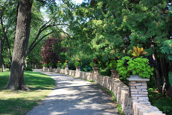 Peaceful Walkway
