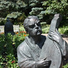 Blind Mandolin Player, Leo Mol Sculpture Garden