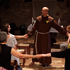 Dancing barefoot with St. Francis